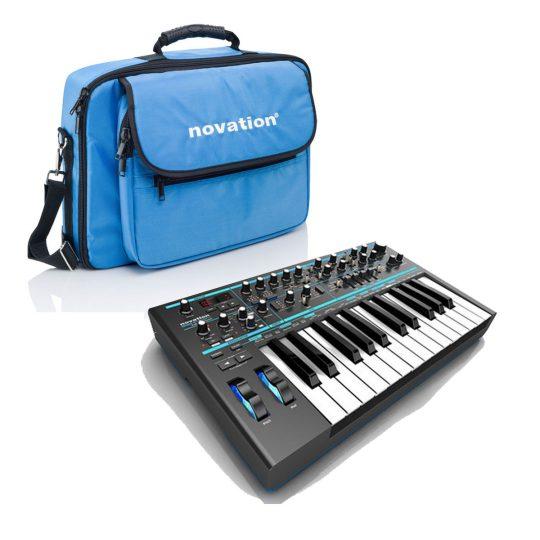 novation bass station II met gratis softcase
