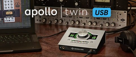 Apollo Twin usb leverbaar