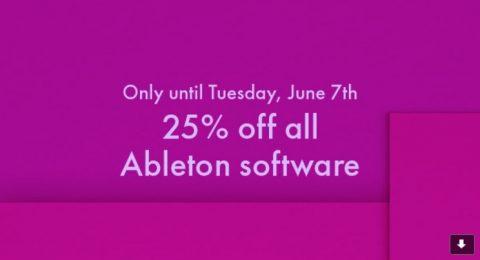 ableton flash sale