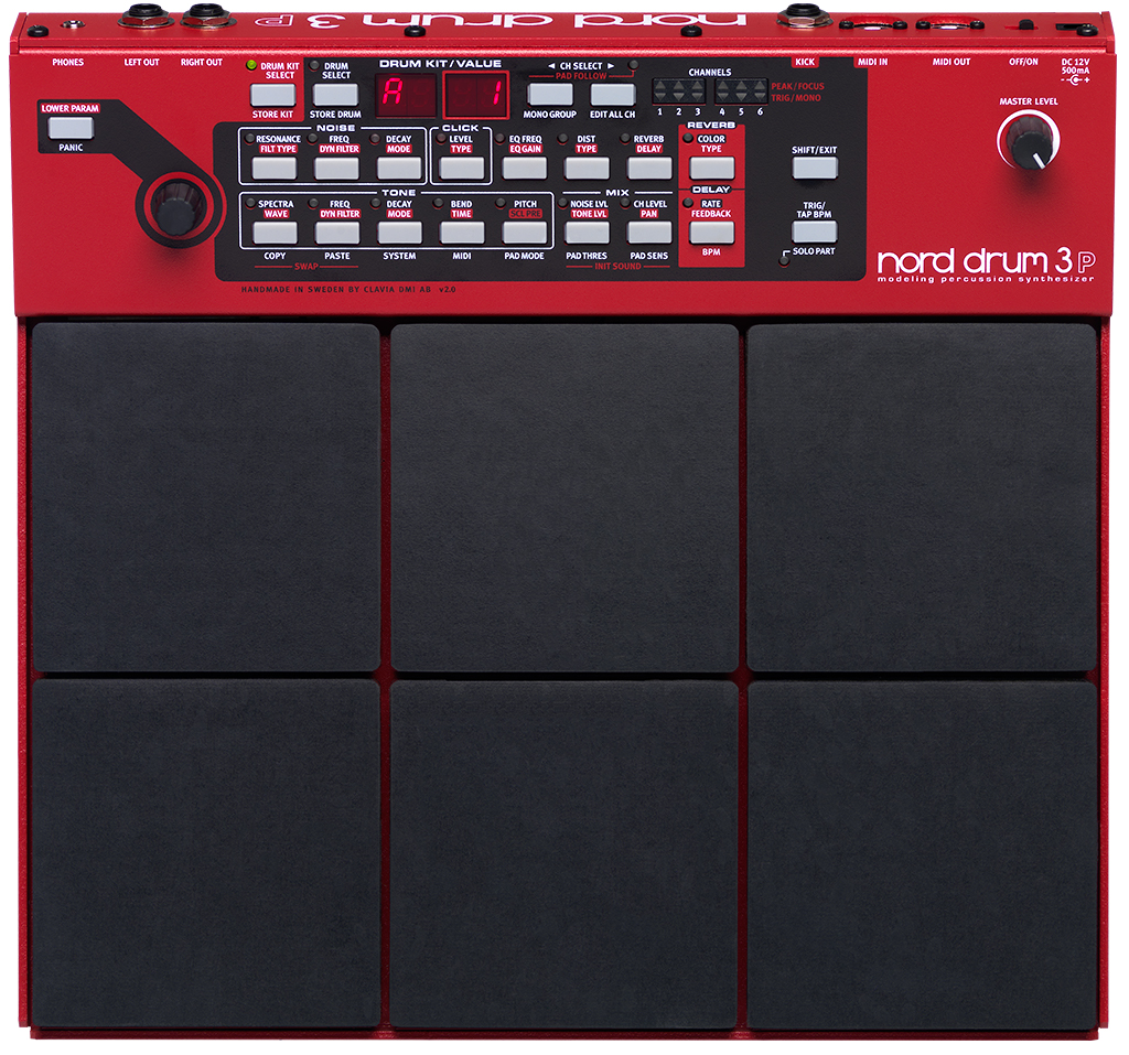 Nord Drum 3p Modeling Percussion Synthesizer Speciale Circuits Online Artikelen Visual Basic En De Printerpoort Aanbieding Studio