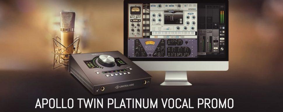 Apollo TWIN platinum promo