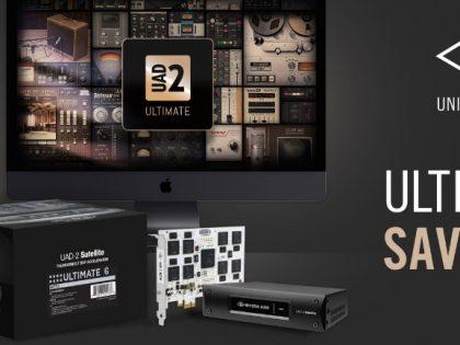 UAD-2 Octo Ultimate 6 tijdelijk met 20% korting