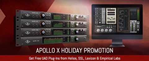 Apollo X holiday promo