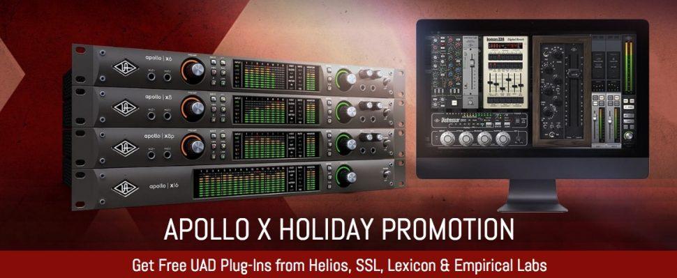 Apollo X holiday promo