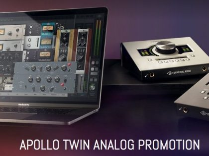 Apollo Twin Analog Promo