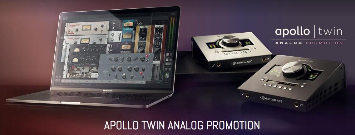 Apollo Twin Analog Promotion