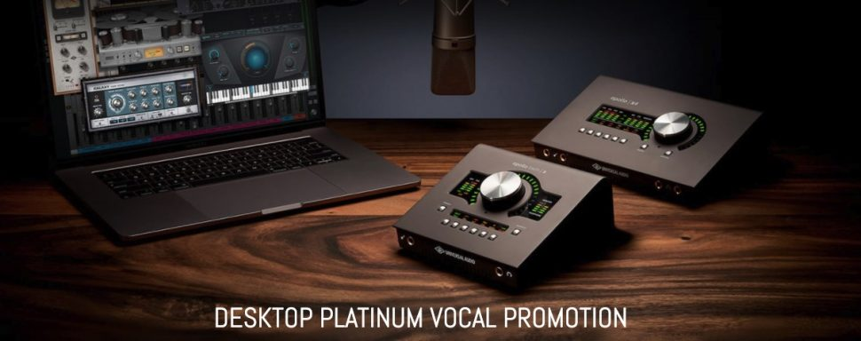UA Platinum Vocal promotion