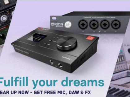 Antelope Promo – gratis edge solo microfoon en extra software